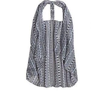 NWT Justice T Back Tribal Vest Size M/L
